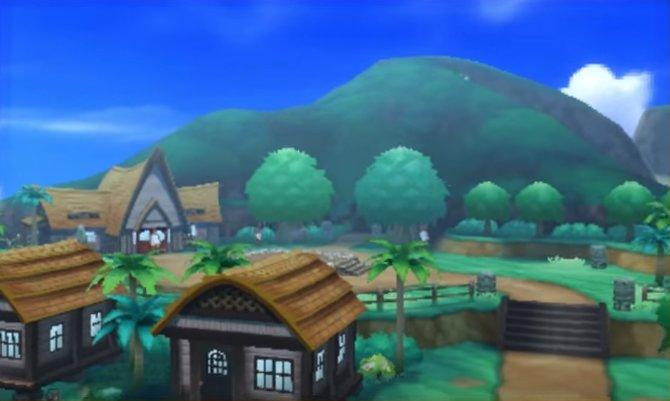 In diesem idyllischen Dorf beginnt das Abenteuer.