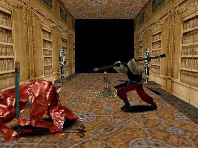 Nightmare Creatures war hierzulande 1998 erschienen. Der Grafik ist das Alter durchaus anzusehen.