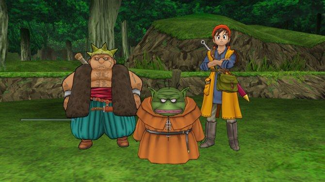 Dragon Quest 8: Der Held und seine Gefährten haben eine weite Reise vor sich.