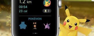 Pok�mon Go: Jetzt auch auf der Apple Watch verf�gbar