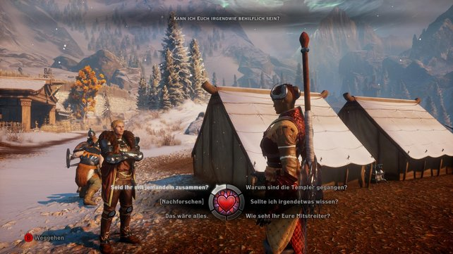 In Dragon Age - Inquisition habt ihr mehr Gelegenheiten für Romanzen als je zuvor.