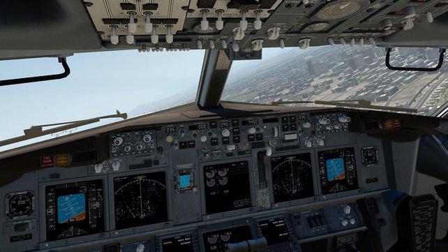 Jedes Instrument und jedes Detail stimmt: X-Plane 11 richtet sich an anspruchsvolle Sim-Fans.