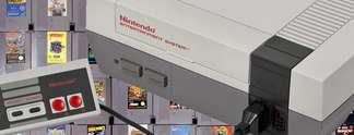 Panorama: Gl�cklicher Fund: NES mitsamt Spielen im Wohnwagen entdeckt