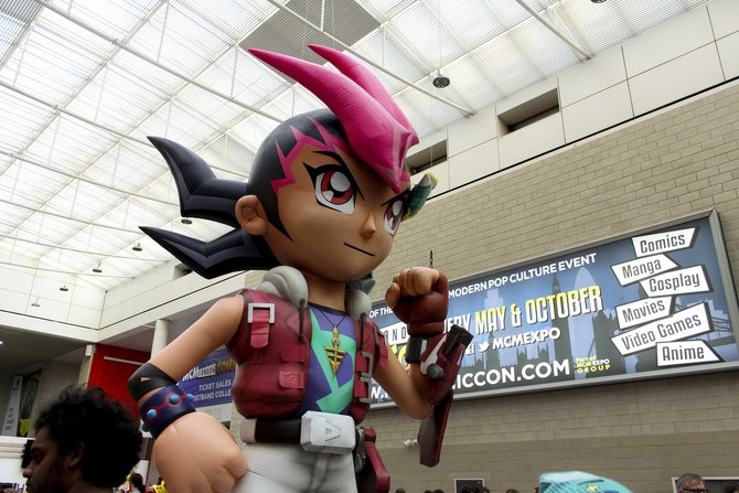 In London findet zweimal jährlich die Comic-Messe MCM London Comic Con statt.