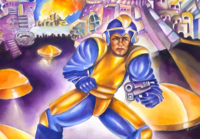 Ja, das ist Mega Man. Ihr glaubt es nicht? Ist aber so.