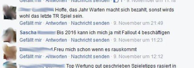 Sascha interessiert unser Test zu Tomb Raider nicht sonderlich. Sein Kommentar: irgenwas zu Fallout 4.