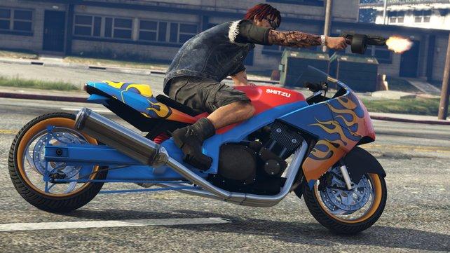 Hit and Ride  - Missionen: Schnappt euch die Fußgänger!