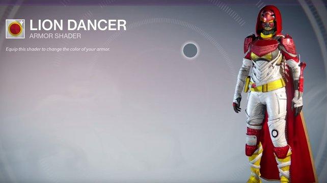 Lion Dancer: Das neue Lieblings-Outfit von Ronald McDonald.
