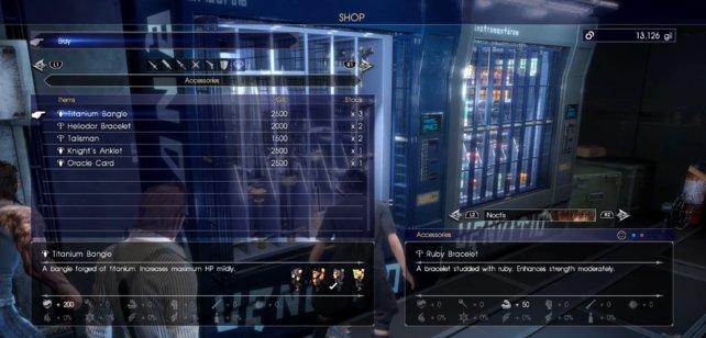 Die zwei Verkaufsautomaten.