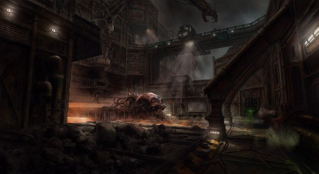 Bereits auf dem allerersten Artwork sieht die Spielwelt unglaublich atmosphärisch aus.