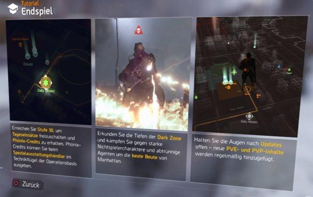 In der Dark Zone gibt es spezielle Händler mit Highend-Ausrüstung im Angebot