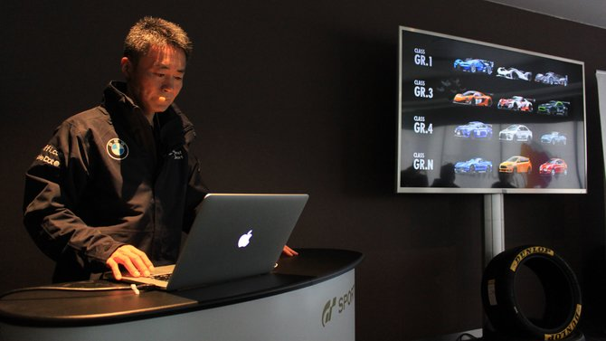 Serienschöpfer Kazunori Yamauchi präsentiert Gran Turismo Sport direkt am Nürburgring.
