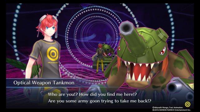 Tankmon ist euer Gegner im Digital Network 3