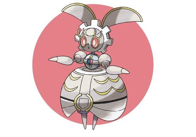 Magearna: Ein mysteriöses und legendäres Pokémon, das ihr per QR-Code freischaltet.