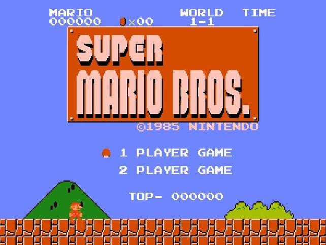 Super Mario Bros. verkauft sich gut 40 Millionen Mal. Diesen Rekord bricht erst Wii Sports im Jahr 2008.
