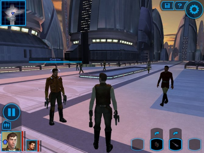 Mit Knights Of The Old Republic erwartet euch ein komplexer Rollenspielklassiker auf Mobilgeräten.