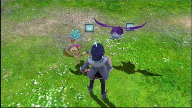 Lobt ihr eure Freunde, verraten sie euch Details zu Evolutionsstufen diverser Digimon.