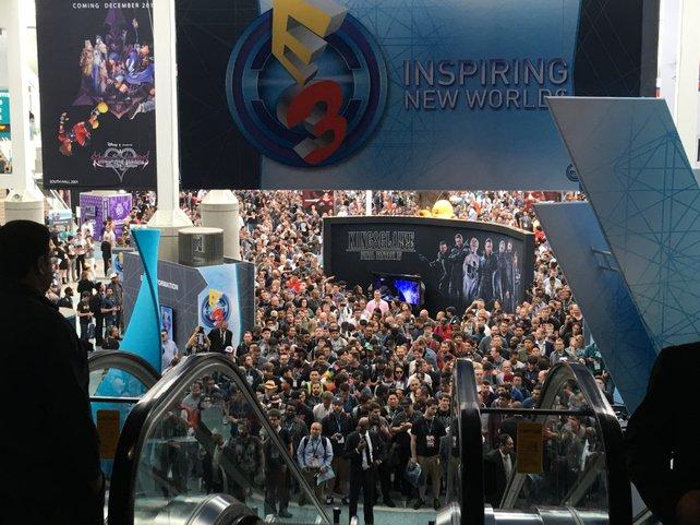 Ansturm auf die E3 2016.