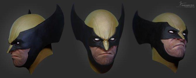 Der gute Wolverine macht eigentlich einen ganz frischen Eindruck.