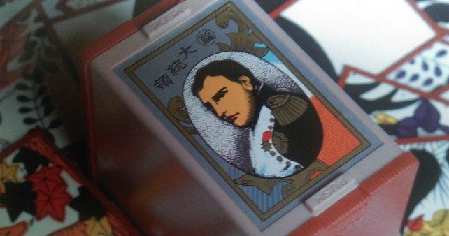 Napoleon ist sozusagen der Super Mario von 1889 - auch wenn Fusajiro ihn für George Washington hält.