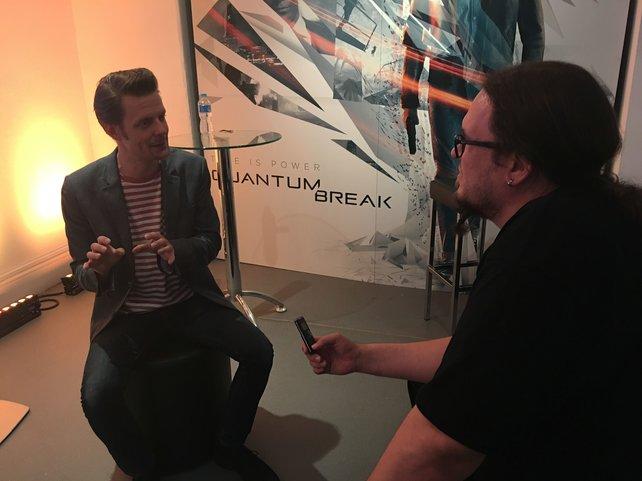 Treffen in London: Sam Lake von Remedy im Gespräch mit Onkel Jo von spieletipps.