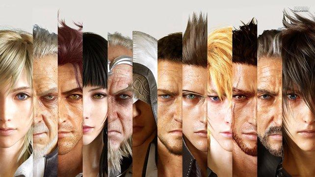 All diese Figuren erwarten euch bei Final Fantasy 15.