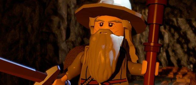 Gandalf der Graue - Kaum ein großer Name der Popkultur darf im Lego-Universum fehlen.
