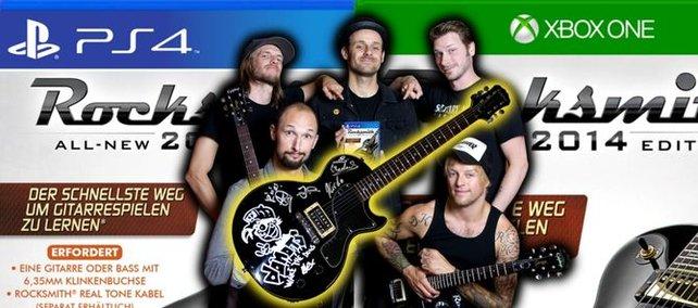 Gewinnt eine von den Donots signierte Gitarre!