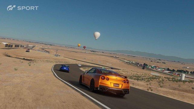 Dank 4K und HDR-Farbspektrum trumpft Gran Turismo Sport vor allem grafisch auf.