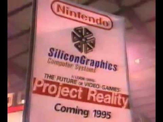 """Yamauchi schließt einen Vertrag mit Silicon Graphics, dem Marktführer in Sachen Grafik. """"Project Reality - Coming 1995"""", heißt es."""