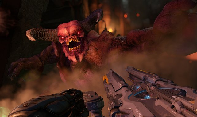 Die Tore der Hölle öffnen sich abermals für die brachiale Ego-Action von Doom.