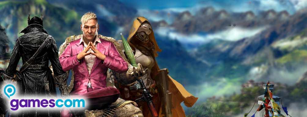 Die 20 Top-Spiele der Gamescom 2014
