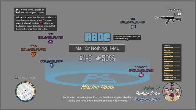 Der Screenshot zeigt Spieler verschiedener Fraktionen.