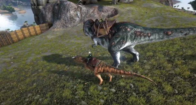 Zähmt euch euren T-Rex