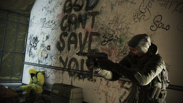 Solo: Auch als Einzelspieler könnt ihr überleben - und sogar die Missionen ohne Probleme abschließen.