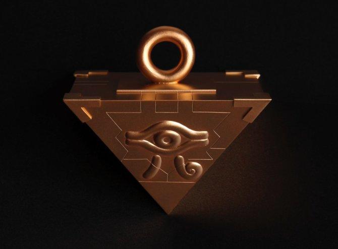Für die Jump Festa 16 kündigte Hersteller Chugai Mining ein Yu-Gi-Oh Millenium Puzzle aus Gold für 25 Millionen Yen an.