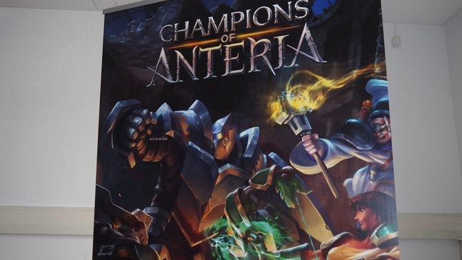 Huch! Aus Die Siedler - Königreiche von Anteria wird Champions of Anteria.
