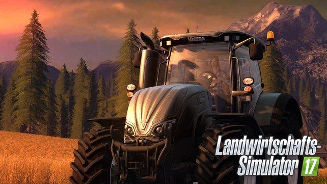 Die neuesten Traktoren bekannter Marken wie Fendt und Valtra sind auch mit dabei.