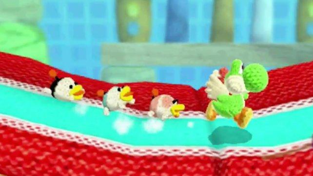 Für Kinder eignet sich der Modus Entspannt. Hier hat Yoshi Schnuffels Welpen im Gepäck.