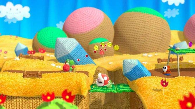 Yoshi's Wooly World: Egal welche Gefahren in einer Welt aus Wolle herrschen, sie bleibt knuddelig.