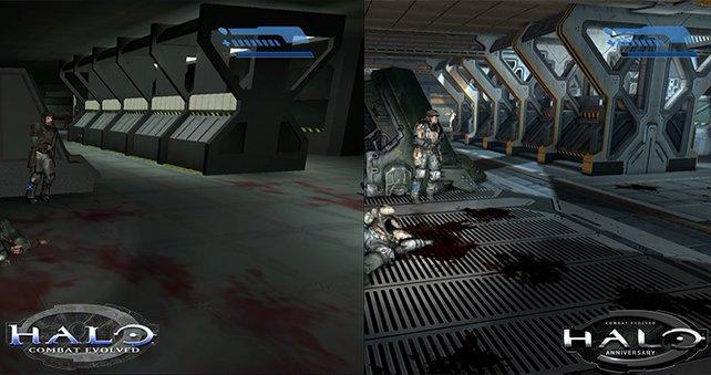 Vergleich zwischen Halo und der Halo Anniversary
