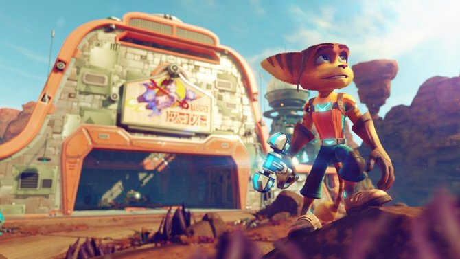 Endlich kommt Ratchet & Clank für die PlayStation 4!