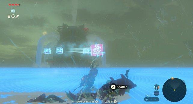 Spart eure Pfeile und verwendet das Cryomodul in diesem Kampf.