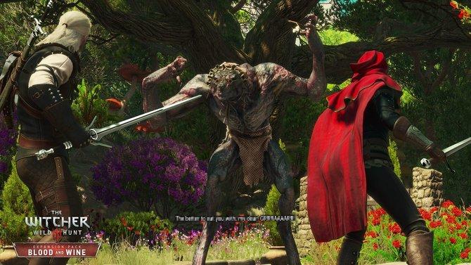 The Witcher 3 - Blood and Wine: Geralt kämpft nicht alleine gegen die Gefahren in Toussaint.