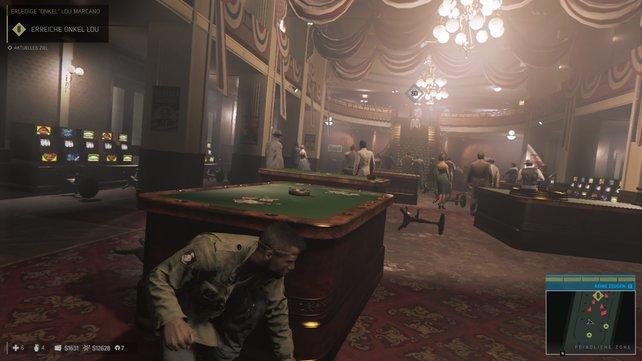 Auch im Casino herrscht das Verbrechen.