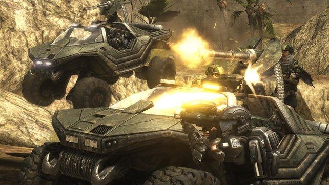 Attacke! Der Warthog aus der Halo-Serie hat Kultstatus. Was ist euer liebstes Fahrzeuge in Videospielen?