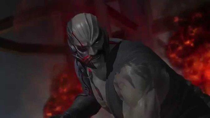Kasumis ärgster Feind und Oberbösewicht Raidou sieht aus, wie eine Mischung aus Kano (Mortal Kombat) und Heihachi Mishima (Tekken).