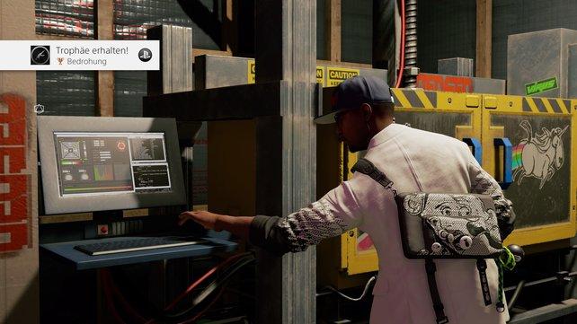Am Terminal des 3D-Printers könnt ihr das gewüschte Waffenmodell auswählen.