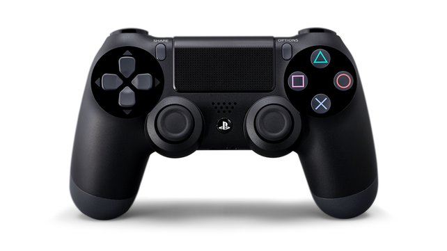 Dank rundlicher Griffe liegt der PS4-Controller klasse in der Hand.