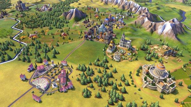 Das gesamte Spiel erscheint deutlich bunter und fröhlicher als die Vorgänger.